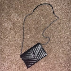 Small YSL chain wallet